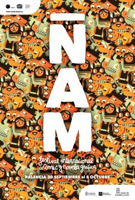 Cartel de ÑAM