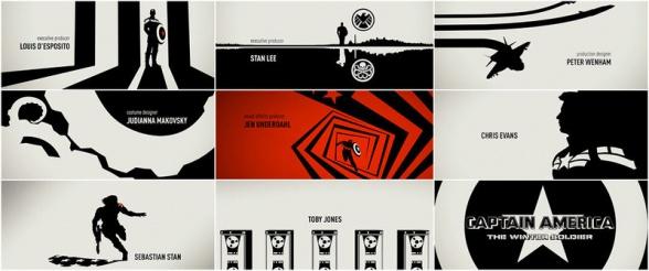 Capitán América 2 - títulos finales 11