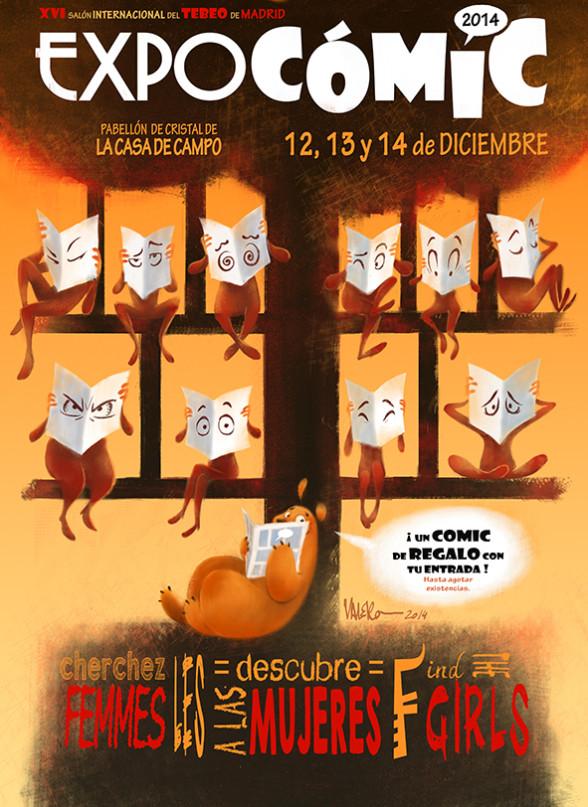 Cartel Expocómic 2014