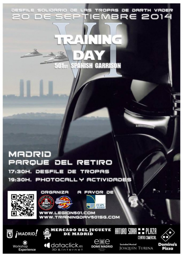 Cartel oficial Training Day VI