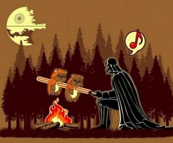 Darth Vader barbacoa