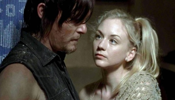 Daryl y Beth The walking dead
