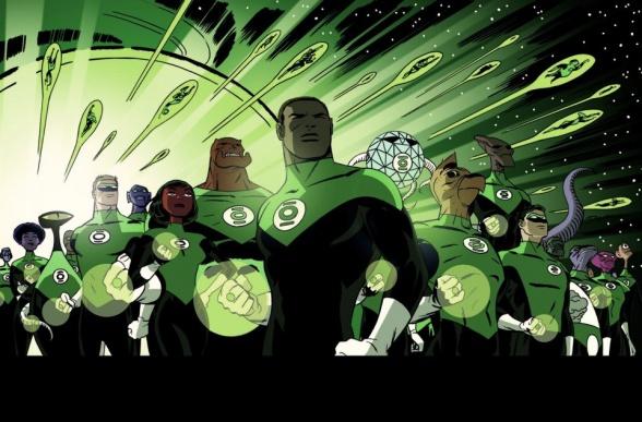 Green Lantern Corps 37 Darwyn Cooke
