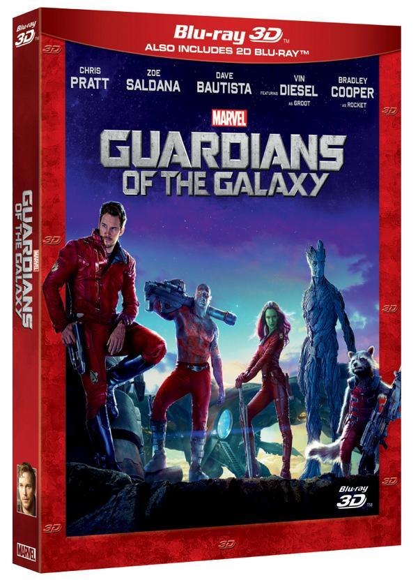 Guardianes de la galaxia Blu-ray 3D