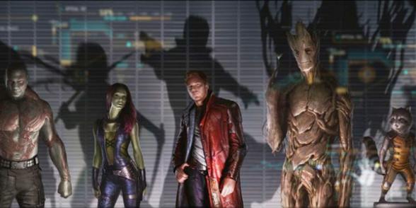 Guardianes de la galaxia DVD y Blu-ray