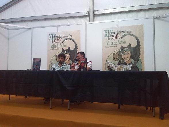 Bruno Redondo en Avilés