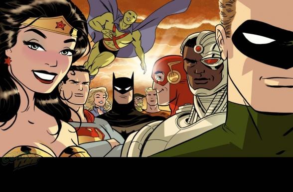 Justice League 37 Darwyn Cooke