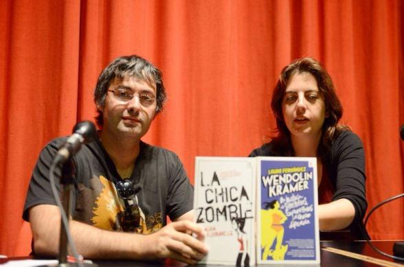 Laura Fernández y Jorge Iván Argiz durante el pasado Celsius 232 (foto de la organización)