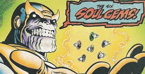 Marvel Comics Infinity Soul Gems Stones