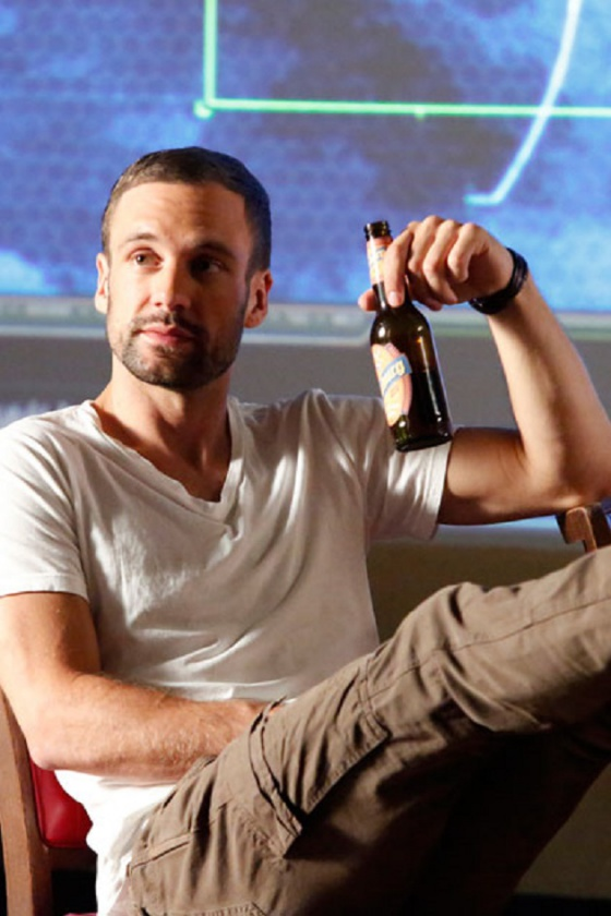 Nick Blood as Lance Hunter in Agents of S.H.I.E.L.D.