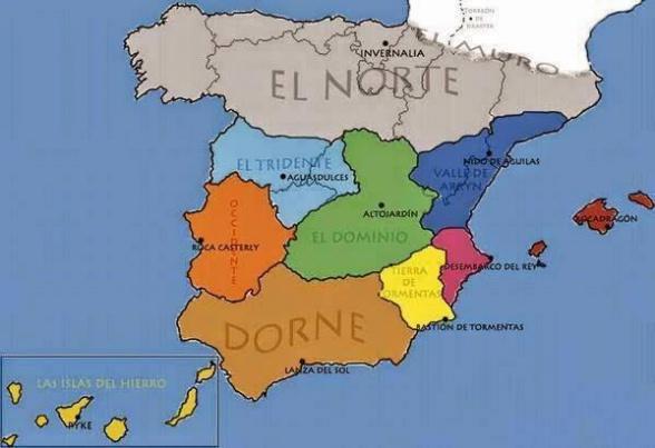 Poniente en España