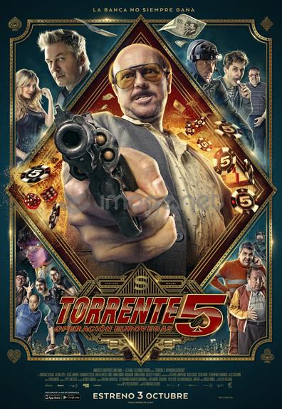 Poster oficial Torrente 5