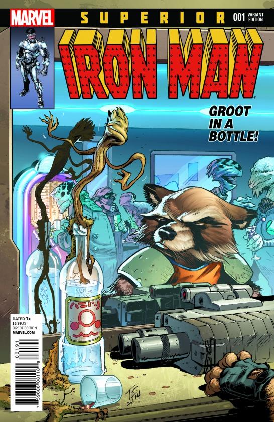RRG Variant Superior Iron Man 1 Tom Fowler