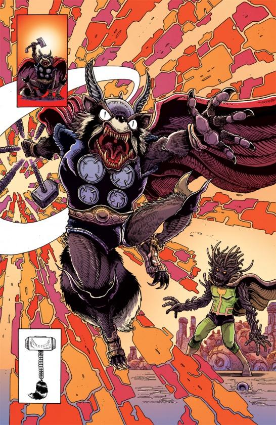 RRG Variant Thor 2 James Stokoe