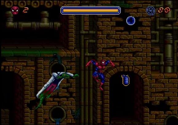 Spiderman - Animated Series Sega