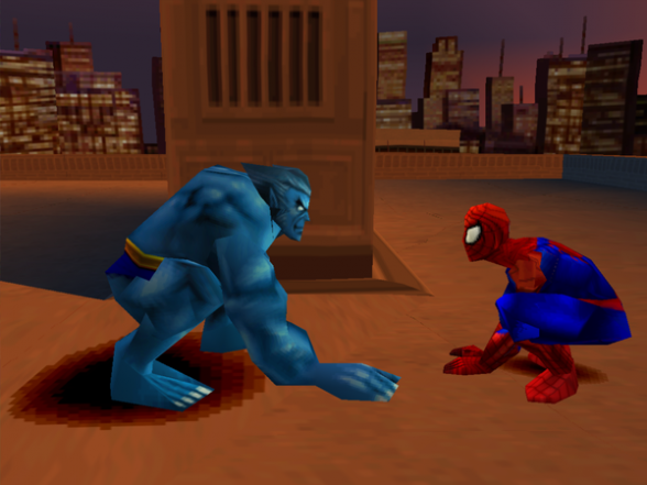 Spiderman Beast - Enter Electro