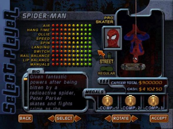 Spiderman-Tonyhawk