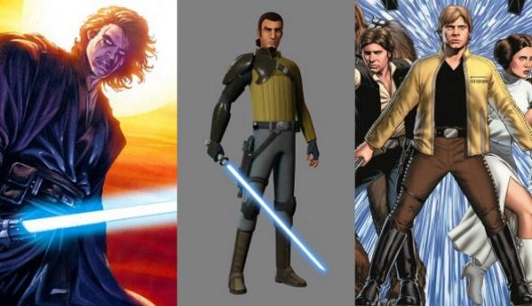 Star wars varias épocas