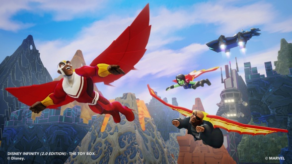 falcon disney infinity marvel