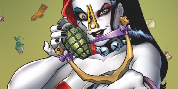 harley quinn vol 2 annual 1 cover 1 teaser 107613
