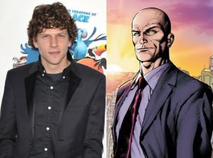 Jesse Eisenberg y Lex Luthor