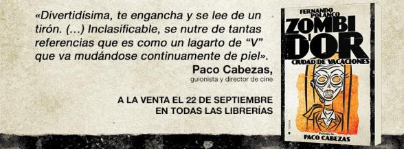 portada frase Paco Cabezas