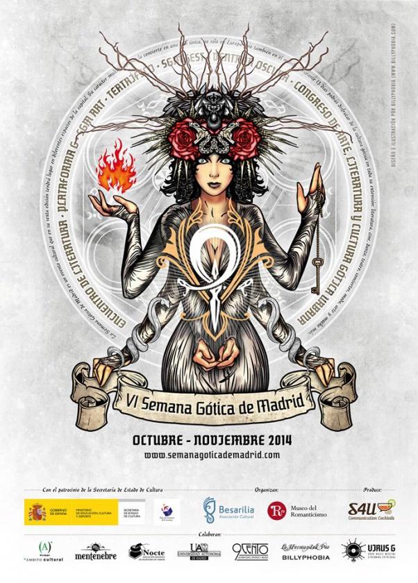 Ineludibles: el Festival de Fantasía de Fuenlabrada, el Encuentro de literatura fantástica de Dos Hermanas, la Eurosteamcon y la Semana Gótica de Madrid