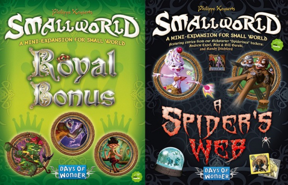 small world nuevas expansiones royal bonus spider's web