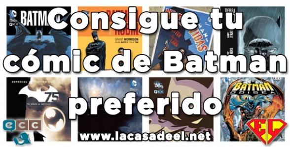 Sorteo ECC Batman