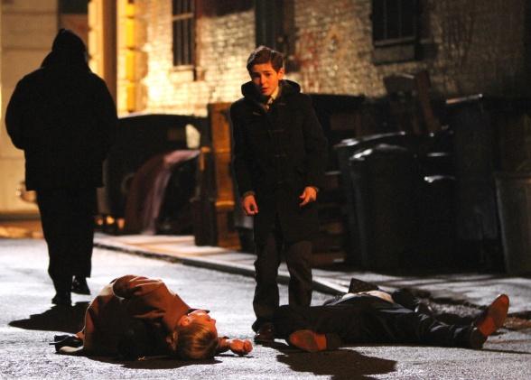 Thomas y Martha Wayne en 'Gotham