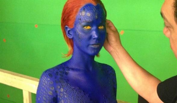 X-Men Days of Future Past - Mystique first look