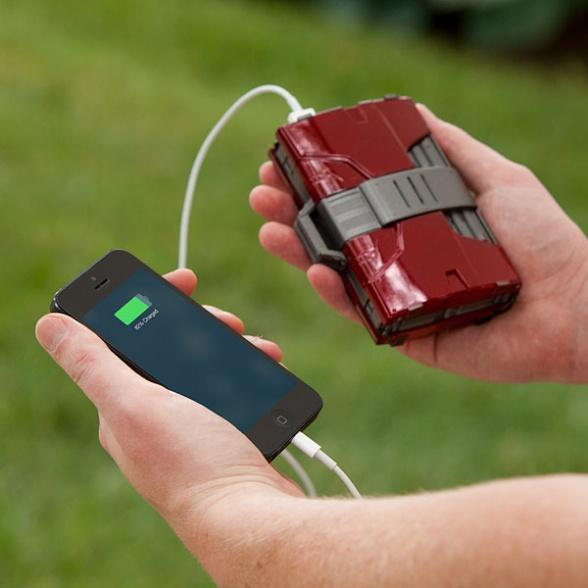 Carga la batería de tu móvil con la armadura de Iron Man