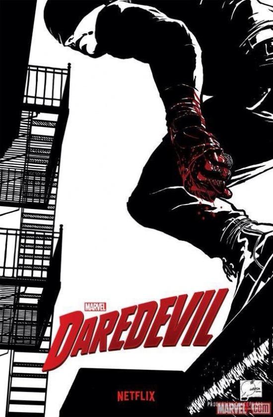 Daredevil Netflix concept art