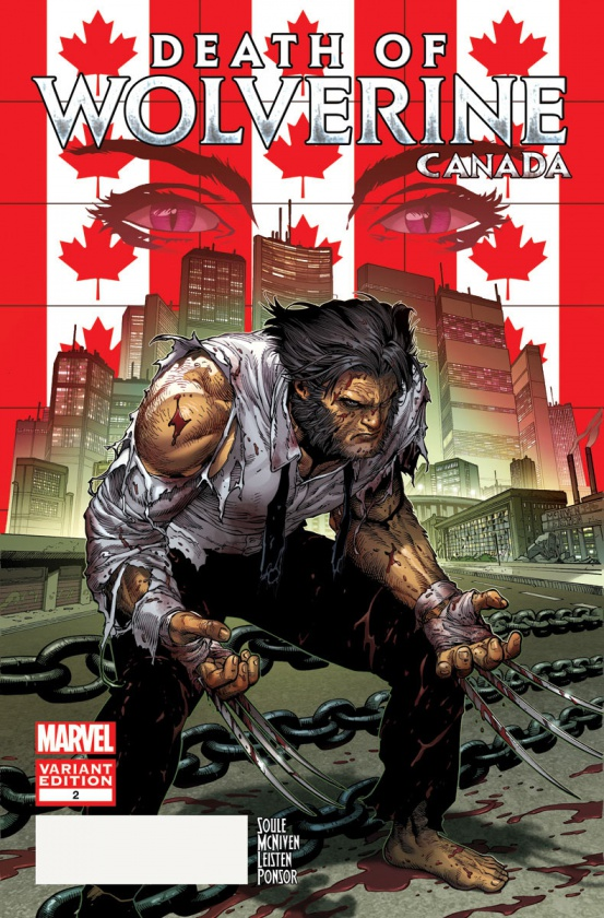 Death of Wolverine 2 Canada Variant f5008
