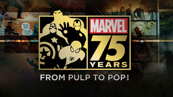 Marvel 75 years: From Pulp to Top!