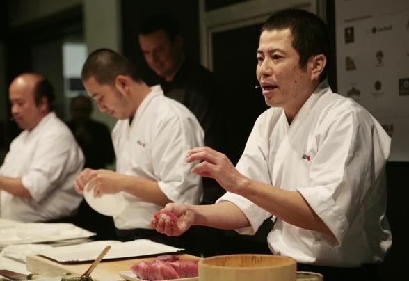 Gastronomía_corte para sushi