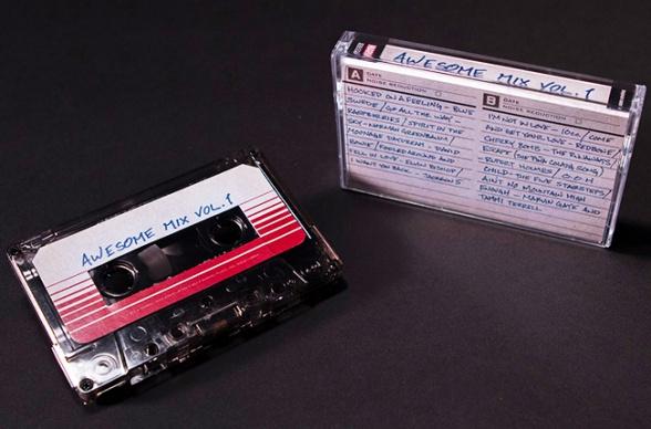 Guardianes de la Galaxia Banda Sonora Cassette