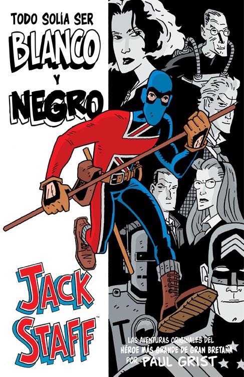 Jack Staff blanco y negro