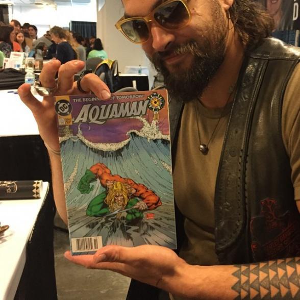 Jason Momoa comic Aquaman