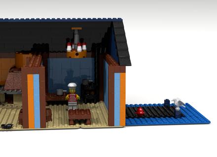 LEGO Monkey Island