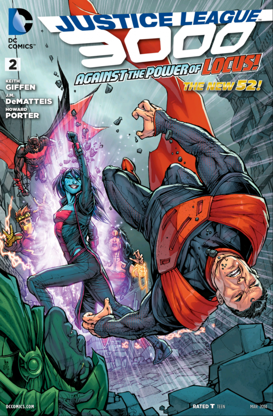 Liga de la Justicia 3000