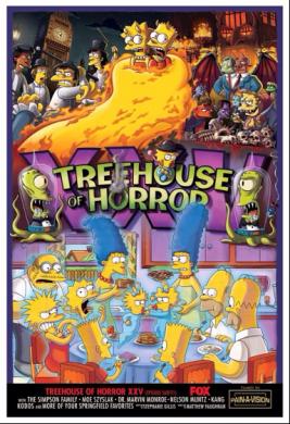 Los simpson casa del arbol del terror 25 XXV
