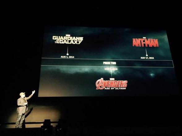 Marvel Event - Kevin Feige persenta la Fase 2