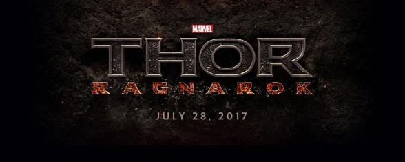 Marvel Event - Thor Ragnarok official logo