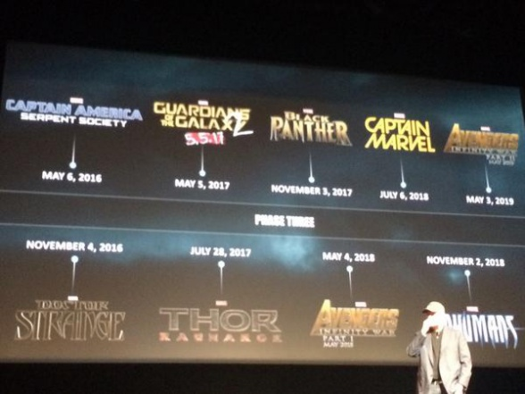 Marvel Event - calendario de estrenos