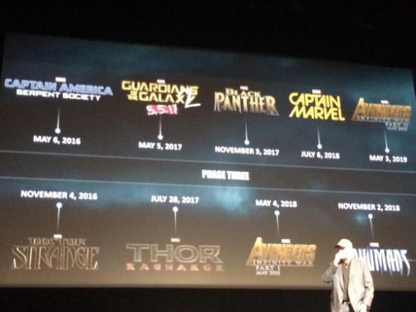 Marvel Event - calendario de estrenos