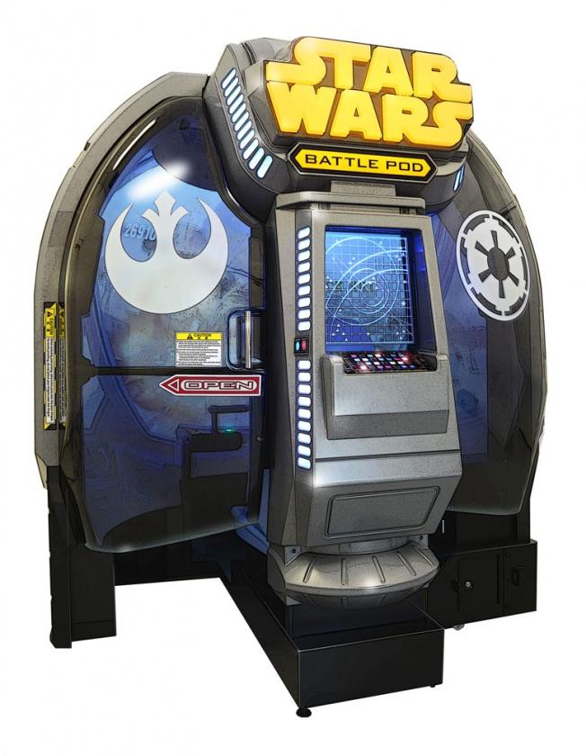 Nueva recreativa Star Wars Battle Pod