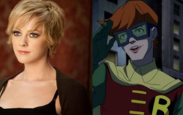 Robin es una chica en Batman V Superman Jena Malone