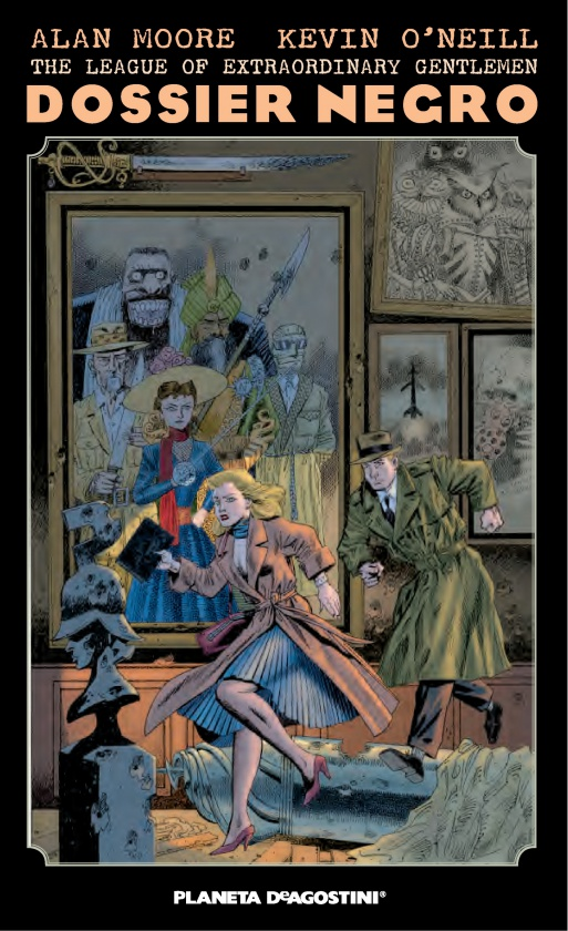 The league of extraordinary gentlemen dossier negro