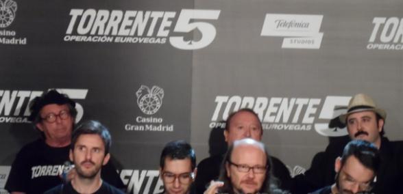 Torrente 5: estuvimos en la rueda de prensa